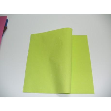 servilleta 40x40 2 capas naranja micropunto plegado 1/4