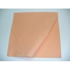 servilleta 40x40 2 capas salmón micropunto plegado 1/4