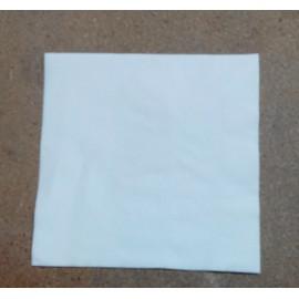 servilleta 40x40 3 capas blanco micropunto plegado 1/4