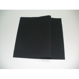 servilleta 40x40 2 capas negro micropunto plegado 1/4 personalizada 1 color