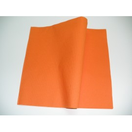 servilleta 30x40 2 capas naranja micropunto plegado 1/6