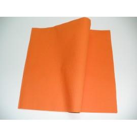 servilleta 30x40 2 capas naranja micropunto plegado 1/6 personalizada 1 color