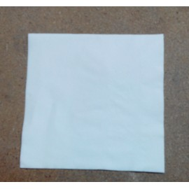 servilleta 30x40 1 capa blanco micropunto plegado 1/4