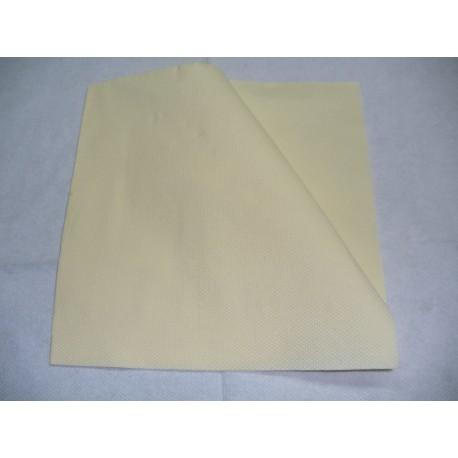 servilleta 40x40 2 capas salmón micropunto plegado 1/4 personalizada 2 colores